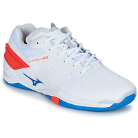 Schuhe Herren Indoorschuhe Mizuno STEALTH NEO Weiss / Blau