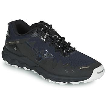 Schuhe Herren Laufschuhe Mizuno WAVE DAICHI 6 GTX Schwarz