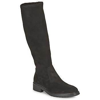 Schuhe Damen Klassische Stiefel Unisa EDANA Schwarz