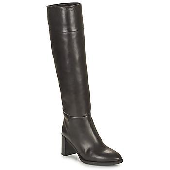 Schuhe Damen Klassische Stiefel Unisa USOLA Schwarz