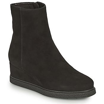 Schuhe Damen Low Boots Unisa JUSTEL Schwarz