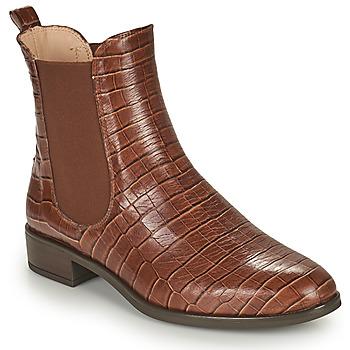 Schuhe Damen Boots Unisa BOYER Camel