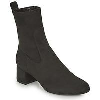 Schuhe Damen Low Boots Unisa LAJUAR Schwarz