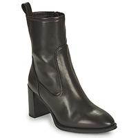 Schuhe Damen Low Boots Unisa UNTIL Schwarz