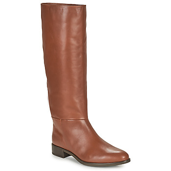 Schuhe Damen Klassische Stiefel Unisa BLEND Camel