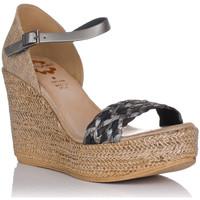Schuhe Damen Sandalen / Sandaletten Porronet 2747 Grau