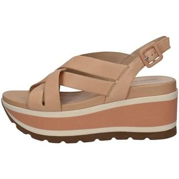 Schuhe Damen Sandalen / Sandaletten Elvio Zanon EN4203 NACKT