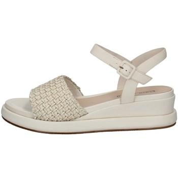 Schuhe Damen Sandalen / Sandaletten Elvio Zanon EN3401 Weiss