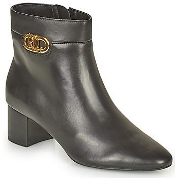 Schuhe Damen Low Boots Lauren Ralph Lauren WYNNIE Schwarz