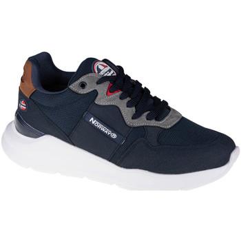 Schuhe Herren Sneaker Low Geographical Norway Shoes Blau