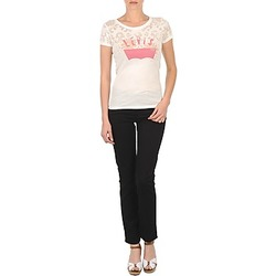 Kleidung Damen Slim Fit Jeans Levi's CL DC SLIM 5 PKT Schwarz