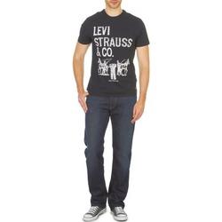 Kleidung Herren Straight Leg Jeans Levi's 504 Schwarz