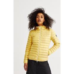Kleidung Damen Daunenjacken Ecoalf  Gelb