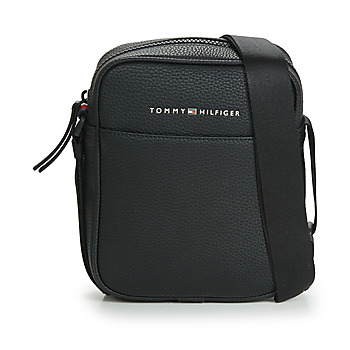 Taschen Herren Geldtasche / Handtasche Tommy Hilfiger ESSENTIAL PU MINI REPORTER Schwarz
