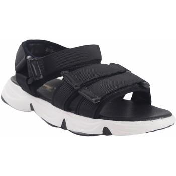 Schuhe Mädchen Sportliche Sandalen Bubble Bobble Mädchensandale  a3289 schwarz Schwarz