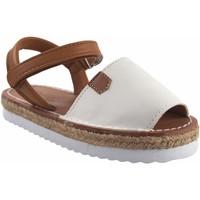 Schuhe Mädchen Sandalen / Sandaletten Bubble Bobble Mädchensandale  a3301 weiß Weiss