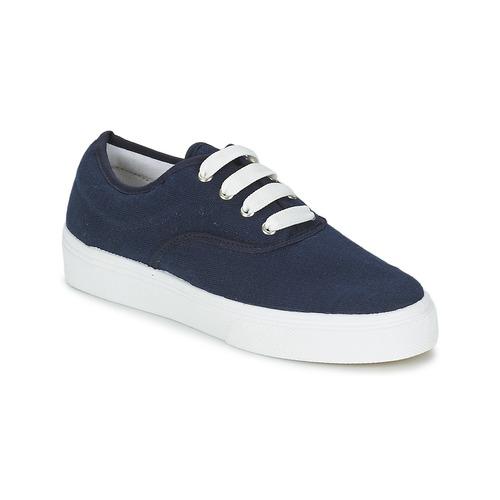 Schuhe Damen Sneaker Low Yurban PLUO Marine