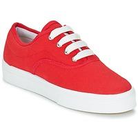 Schuhe Damen Sneaker Low Yurban PLUO Rot