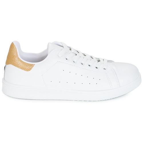 Yurban SATURNA Sneaker Weiss / Gold  Schuhe Sneaker SATURNA Low Damen 59,99 1656ef