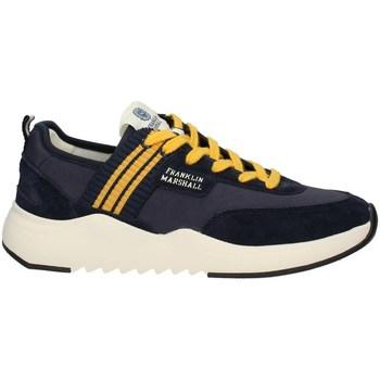 Schuhe Herren Sneaker Low Franklin & Marshall FFIE0019T niedrig Harren MARINE GELB MARINE GELB