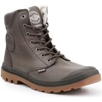 Schuhe Herren Sneaker High Palladium Manufacture Pampa HI Grau