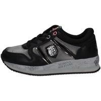 Schuhe Damen Sneaker Low Marina Militare MM359 SCHWARZ