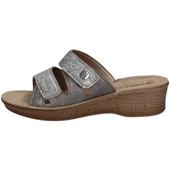 Schuhe Damen Pantoffel Inblu 26 78 SILBER