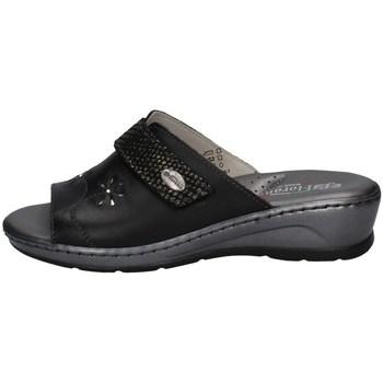Schuhe Damen Pantoffel Florance 22535 SCHWARZ
