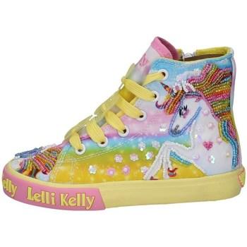 Schuhe Mädchen Sneaker High Lelli Kelly LK 9090 GELB