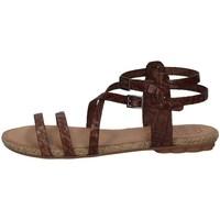 Schuhe Damen Sandalen / Sandaletten Porronet FI2603 KAFFEE'