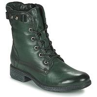Schuhe Damen Boots Dream in Green NELATINE Grün