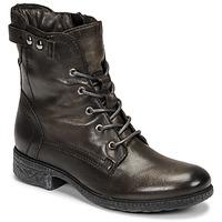 Schuhe Damen Boots Dream in Green NELATINE Grau