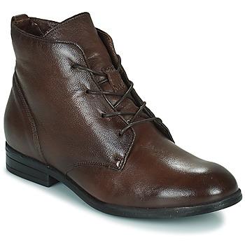 Schuhe Damen Boots Dream in Green NERGLISSE Braun