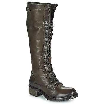 Schuhe Damen Klassische Stiefel Dream in Green NUCRE Grau