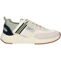 Schuhe Herren Sneaker Low Franklin & Marshall FFIE0027T niedrig Harren WEISS GRÜNE MARINE WEISS GRÜNE MARINE