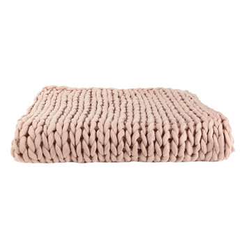 Home Wirfdecken The home deco factory CHUNKY Rose