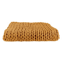 Home Wirfdecken The home deco factory CHUNKY Gelb
