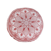 Home Kissen The home deco factory MIRAGE Rosa / weiss