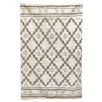 Home Teppiche The home deco factory MIRAGE Weiss / Beige