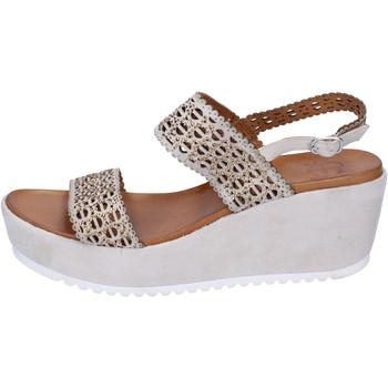 Schuhe Damen Sandalen / Sandaletten Femme Plus BJ892 Beige