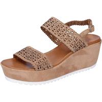 Schuhe Damen Sandalen / Sandaletten Femme Plus BJ895 Braun