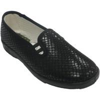 Schuhe Damen Hausschuhe Doctor Cutillas Frau Sneaker, der Schuh simuliert Doctor Schwarz