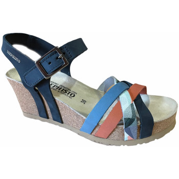 Schuhe Damen Sandalen / Sandaletten Mephisto MEPHLANNYnavy blu