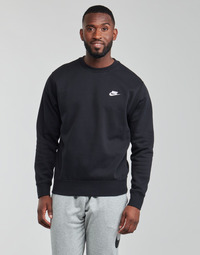 Kleidung Herren Sweatshirts Nike NIKE SPORTSWEAR CLUB FLEECE Schwarz / Weiss