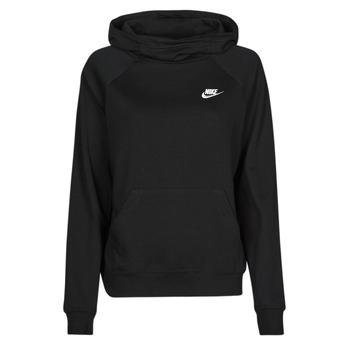 Kleidung Damen Sweatshirts Nike NIKE SPORTSWEAR ESSENTIAL Schwarz / Weiss