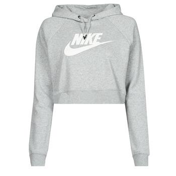 Kleidung Damen Sweatshirts Nike NIKE SPORTSWEAR ESSENTIAL Grau / Weiss