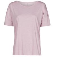 Kleidung Damen T-Shirts Nike NIKE YOGA Violett