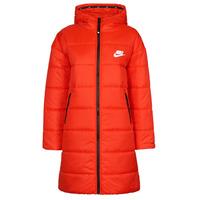 Kleidung Damen Daunenjacken Nike W NSW TF RPL CLASSIC HD PARKA Rot / Schwarz / Weiss