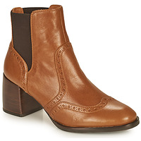 Schuhe Damen Low Boots Chie Mihara OGUN Cognac