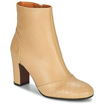Schuhe Damen Low Boots Chie Mihara WAIDA Beige